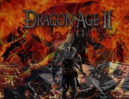 Dragon Age 2 Poster by xRedhawkAcex