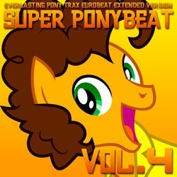 Super Ponybeat Vol. 4 Album Art - Cheese Sandwich by DashieMLPFiM