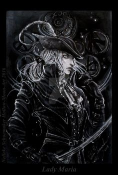 Lady Maria - BLoodborne the old hunters finished