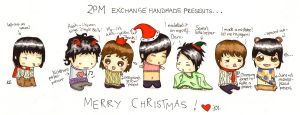 A 2PM sweet Christmas by Pigeons-and-Chives