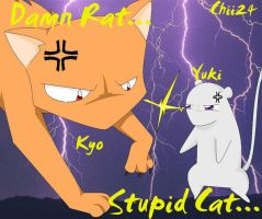 Kyo vs Yuki by OfficialChii24