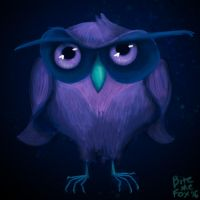 Night Owl from Night Elf by BiteMeFox