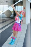 Pinkie Pie Equestria Girls Cosplay by GiorgiaSanny