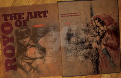 ROYO Editorial page 1 by CR-Graphics