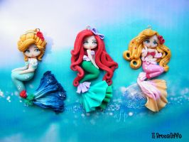 Princesses Mermaids by BrucaliffoBijoux