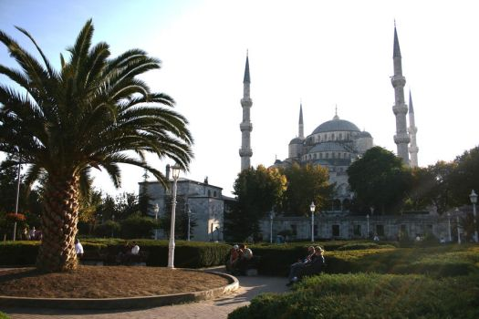 'Blue Mosque' in Istanbul. by nosemouth