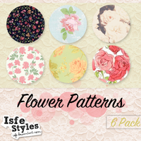 Patterns Vintage flower by Isfe