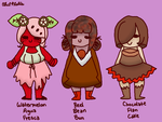 Sweet Adoptable Kids (REDUCED PRICE) by OhIPhelia