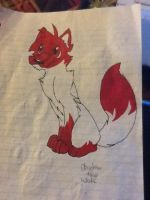 Drawing on paper 2 by Obsidianthewolf