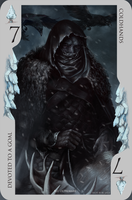 Game of Thrones card: Coldhands by Blu-Oltremare