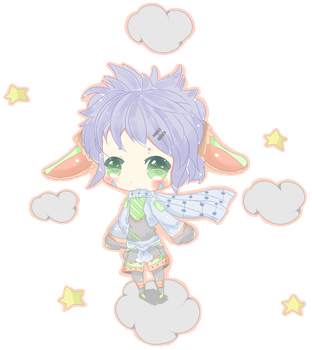AtelierCrystal's Chibi for Contest by WeeBabey