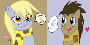 I Talk Only Of You - MLPFiM by DoctorDerpy