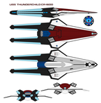 USS  thunderchild CR-1600 by bagera3005