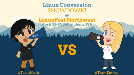 Linux Conversion Showdown Banner by OdysseyWestra