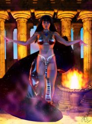 Goddess Inanna by Silverwind3D