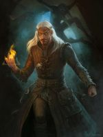 The Witcher) by Julaxart