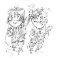 Gee and Frank for Eugenelle by dragon-flies