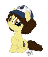 Little Filly Clementine by PeachPalette