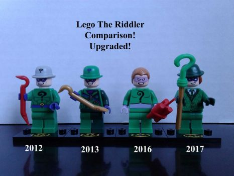 Lego The Riddler Comparison Upgraded! by lol20