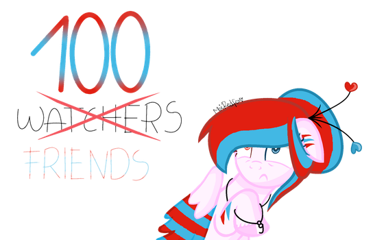 100 friends by MeiRedfox