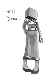 30 character challenge - deirdre by daughter-thursday