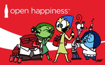 Open Happiness by ARTis2awsome