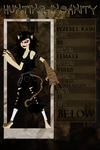 Hunting Insanity App - Iyzebel Kain by SavannaEGoth