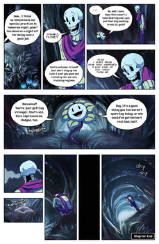 Flowey Is Not a Good Life Coach - Chap. 3, page 7 by fluffySlipper