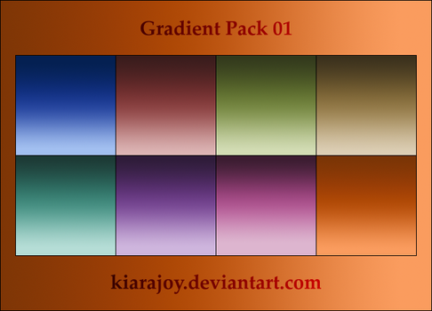 Gradients Pack 01 by kiarajoy-stock