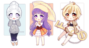[At] mini chibi batch by insane-hopeless