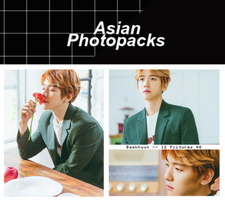 Photopack 1402 // Baekhyun (EXO) (Take You Home). by xAsianPhotopacks