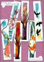 bookmarks - group 1 by DawnstarW