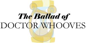 The Ballad of Doctor Whooves Logo, Lyra Variant by Alkonium