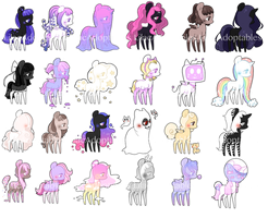 [MOVED] Huge Batch of Ponies by LilacAdoptables