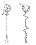 Sailor Nemesis's Staffs by Zeldaboyz