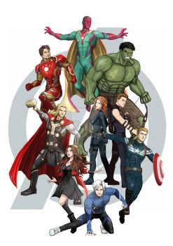 The Avengers by Fandias