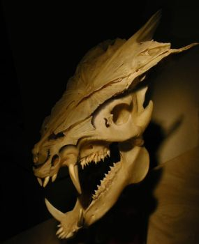 DragonSkull by skulpturro