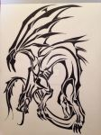 Dragon Tribal by AngelOfDarkness050