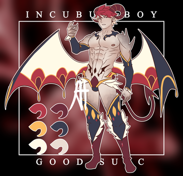 [CLOSED AUCTION SB$57] Incubus Boy by 3-X-E