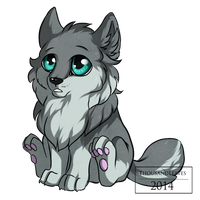 .::Sapphire eyes::. by ThousandLeaves