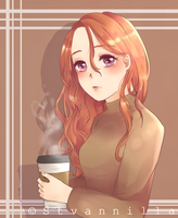 A Cup Of Coffee by Stvannilla