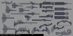 Weapon Concept Art 1 by marky1212