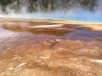 Yellowstone - Grand Prismatic Spring 2 by RenegadePanther