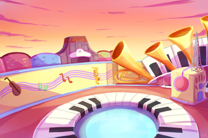 Minnie's Melodyland by SleepyDawn