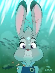 Officer Hopps is in the drink by The-Victor-Catbox