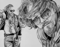 Bobby and Gibbs by Draw4u