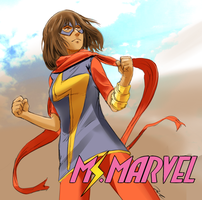 Kamala khan by Jurill