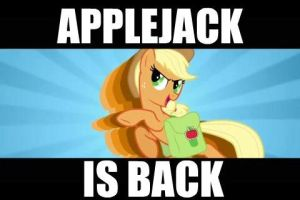 AppleJack IS BACK by alexsalinasiii