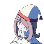 Sucy Manbavaran from Little Witch - Comfy Girl by daul