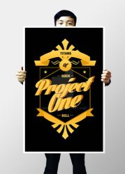 Project One Band Rock Royalty by mikeBlink